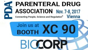 PDA Biocorp booth XC 90 parenteral