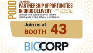 PODD 2017 Biocorp booth 43