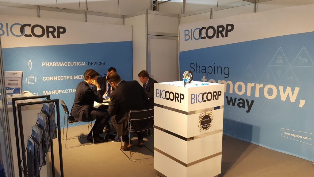 Biocorp partnership pharma CPhI