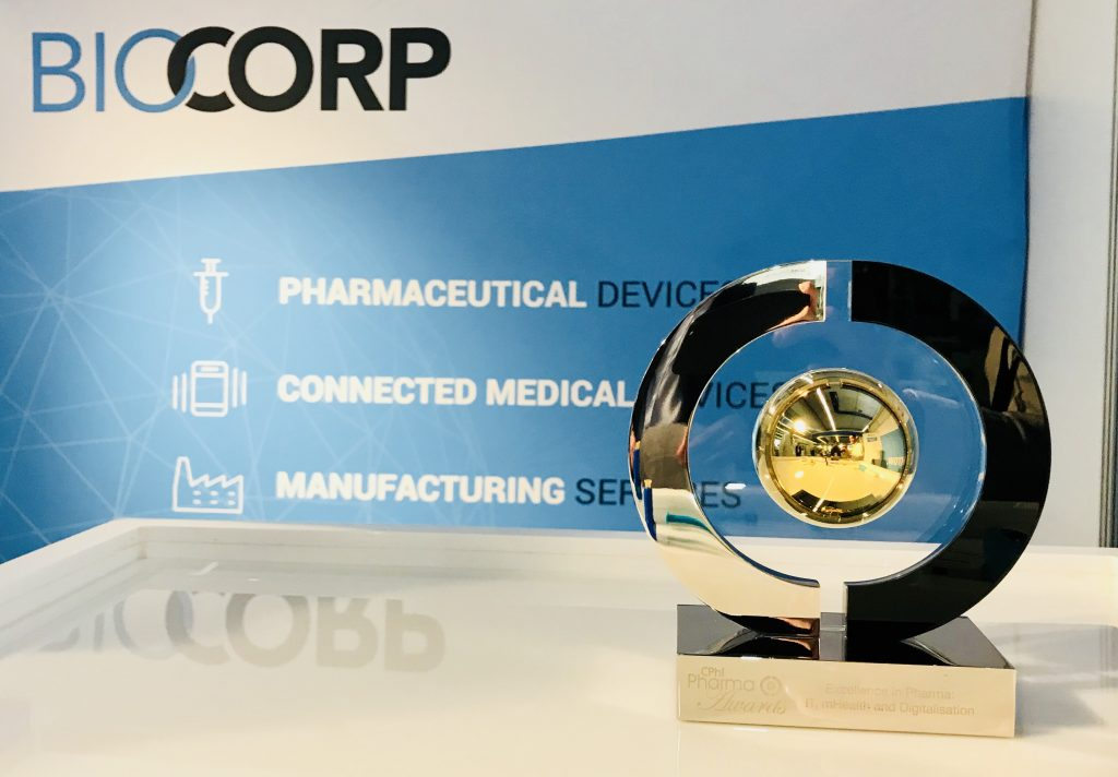 CPhI awards Biocorp